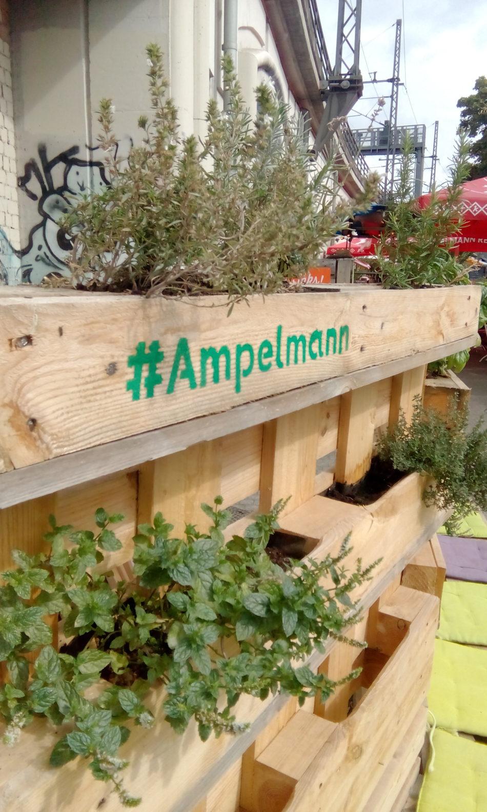 Kruidenmeubel Ampelmann Restaurant
