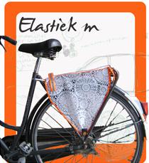 Elastiekm op de fiets