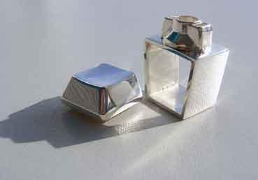 Toetsring zilver