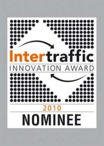 Nominatie Innovation Award Intertraffic 2010