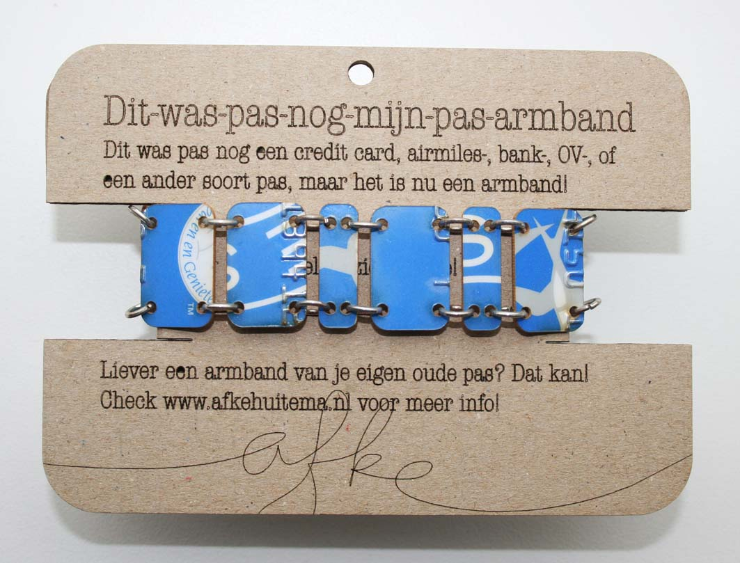 Airmiles in armband